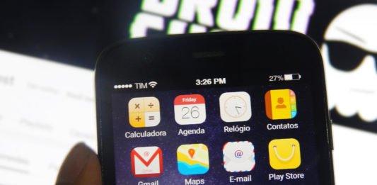 Transforme seu android em Iphone