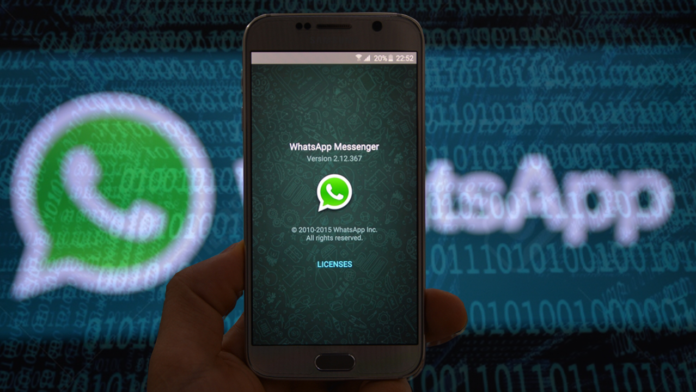 WhatsApp novo visual
