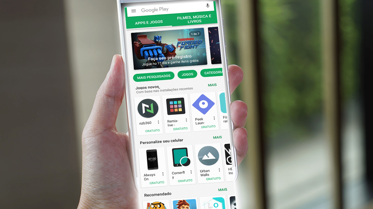 top 5 aplicativos