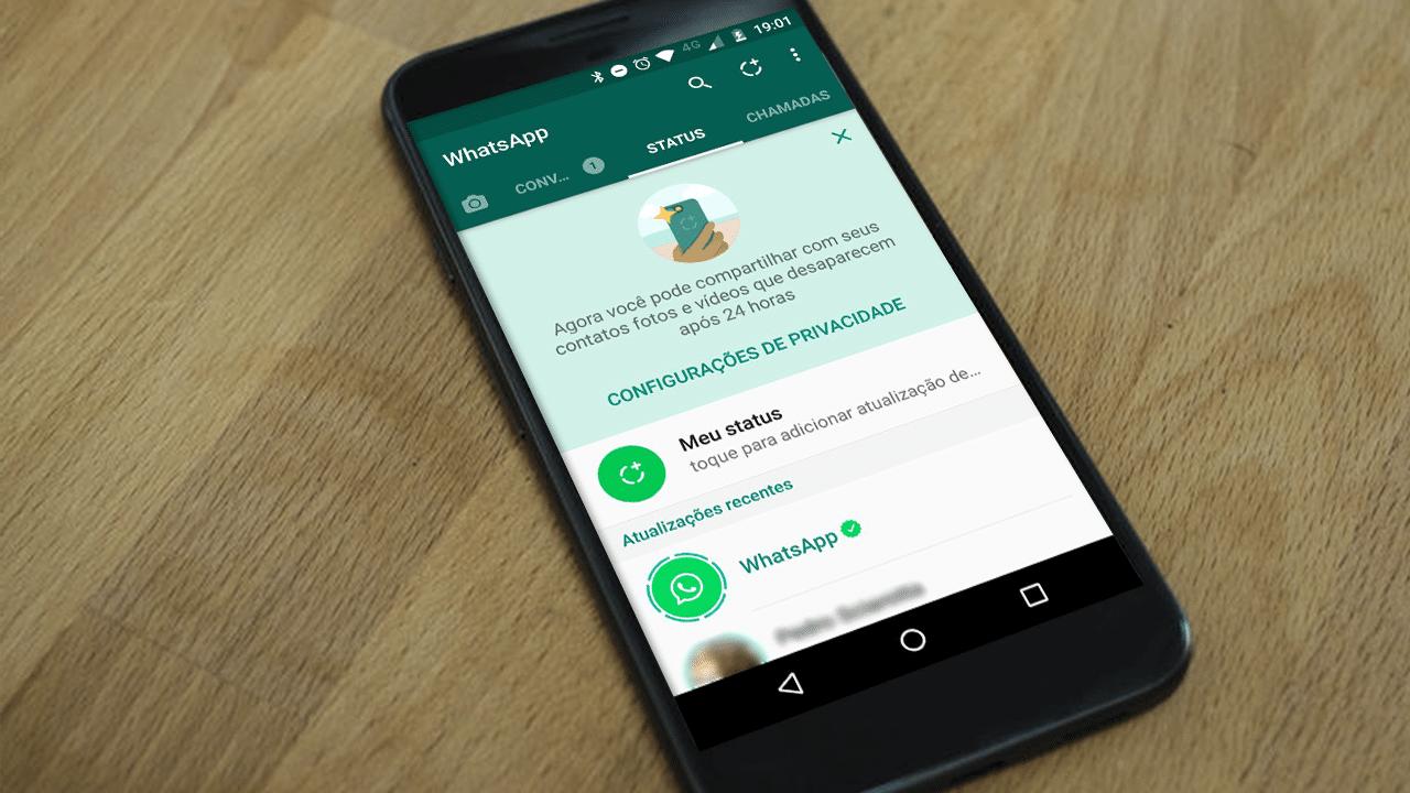 como salvar fotos e vídeos do status do whatsapp