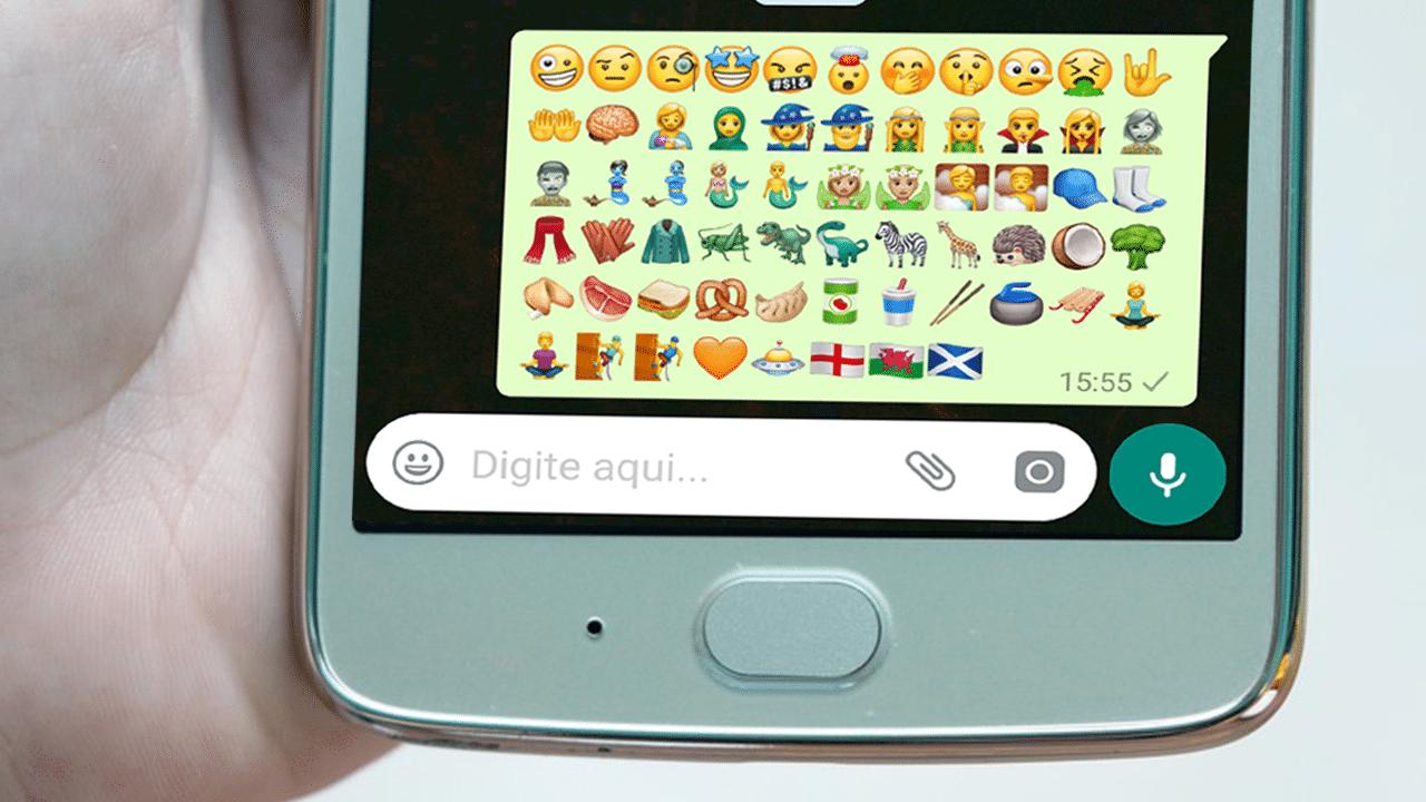 Novos emojis whatsapp