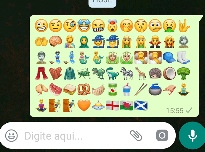 emojis novos