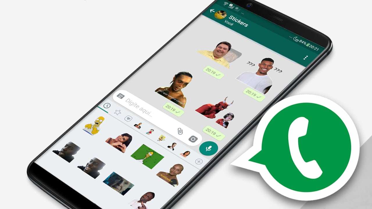 Figurinhas animadas whatsapp
