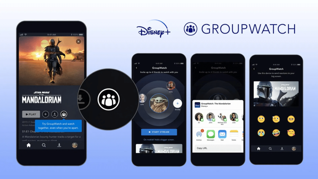 group watch disney plus